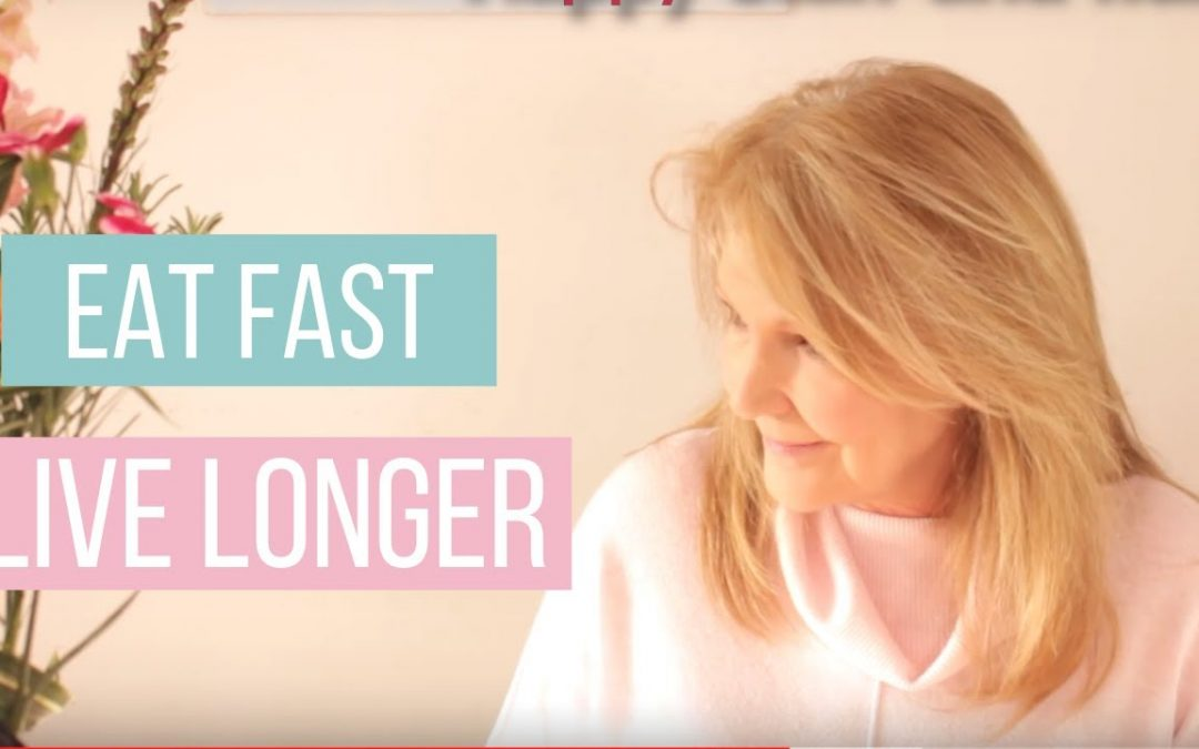 Eat fast Live Longer.  Time restricted eating for health and fitness