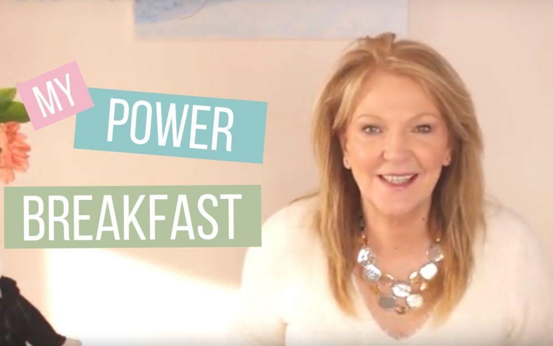 Winter breakfast ideas:  My power breakfast