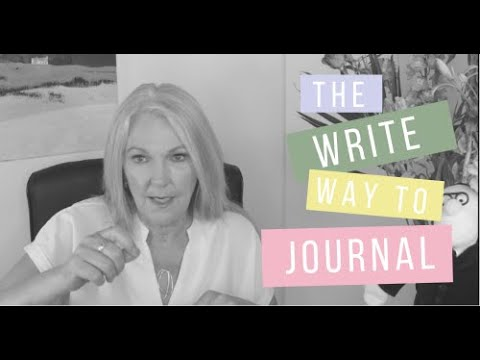 Writing a journal – How writing a journal can help you